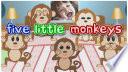 Five Little Monkeys | Nursery Rhyme
