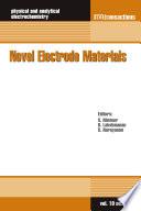 Novel Electrode Materials Book PDF
