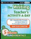 Pdf The Writing Teacher's Activity-a-Day Telecharger