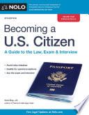 Becoming a U S  Citizen Book