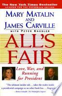 "All's Fair: ""love, War And Running For President"""