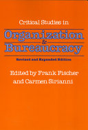 Pdf Critical Studies in Organization and Bureaucracy