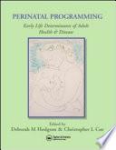 Perinatal Programming Book