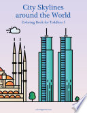 City Skylines around the World Coloring Book for Toddlers 5
