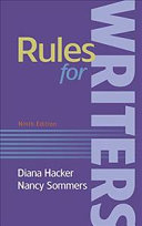Rules for Writers 9e   a Student s Companion to Hacker Handbooks