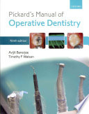 Pickard s Manual of Operative Dentistry Book
