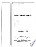 Cold Fusion Research