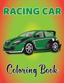 Racing Car Coloring Book
