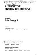 Alternative Energy Sources VII