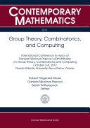 Group Theory, Combinatorics, and Computing