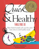 Quick & Healthy Recipes and Ideas: Quick & healthy