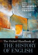 The Oxford Handbook of the History of English Pdf/ePub eBook