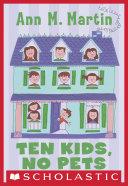 Ten Kids, No Pets Pdf/ePub eBook