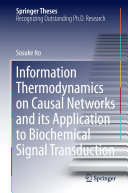 Information Thermodynamics on Causal Networks and its Application to Biochemical Signal Transduction Pdf/ePub eBook