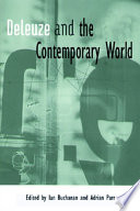 Deleuze and the Contemporary World