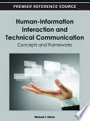 Human Information Interaction and Technical Communication  Concepts and Frameworks Book