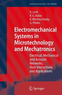 Electromechanical Systems in Microtechnology and Mechatronics