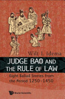 Pdf Judge Bao and the Rule of Law Telecharger
