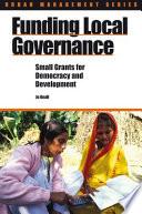 Funding Local Governance