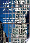 Elementary Real Analysis, Second Edition