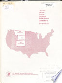 Federal Telephone Directory