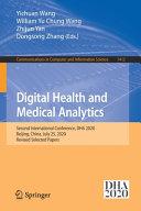 Digital Health and Medical Analytics Book