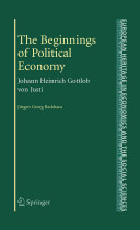 The Beginnings of Political Economy