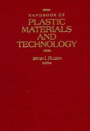 Handbook of Plastic Materials and Technology Book