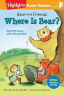 Bear and Friends: Where Is Bear? [Pdf/ePub] eBook