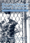 Pdf Correctional Boot Camps Telecharger