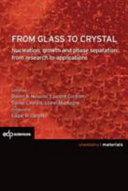 From glass to crystal