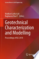 Geotechnical Characterization and Modelling Book