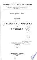 Cancionero popular de Córdoba