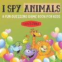 I Spy Animals Book