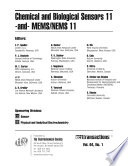 Chemical and Biological Sensors 11  and  MEMS NEMS 11