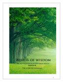 Pdf Words of Wisdom (Volume 6) Telecharger
