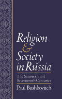 Pdf Religion and Society in Russia Telecharger
