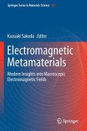 Electromagnetic Metamaterials