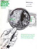 Oregon State Bar Bulletin Book PDF