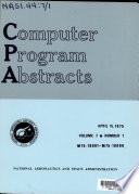 Computer Program Abstracts Book