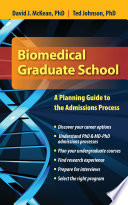 Biomedical Graduate School  A Planning Guide to the Admissions Process