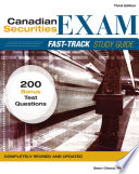 Canadian Securities Exam Fast Track Study Guide