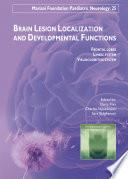 Brain Lesion Localization And Developmental Functions Book PDF