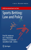 Sports Betting Law And Policy
