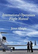 International Operations Flight Manual