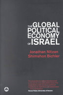 The Global Political Economy of Israel