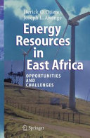 Pdf Energy Resources in East Africa