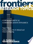 Cortico Cortical Communication Dynamics