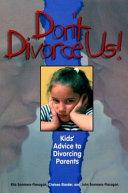 Don t Divorce Us