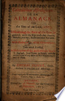 Calendarium Astrologicum Or An Almanack For The Year Of Our Lord 1673